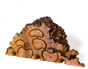 Curly Burl Maple Puzzle Jewelry Box by Fred Buss