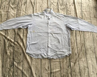 COMME des GARCONS HOMME Junya Watanabe Era Striped Made In Japan Long Sleeve Casual Shirts
