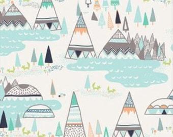 Woodland Pine| Fitted Crib Sheet/Changing pad cover/Mini crib sheet/ Standard pillowcase
