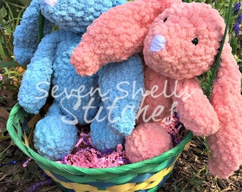 Cuddly Soft Crochet Bunny