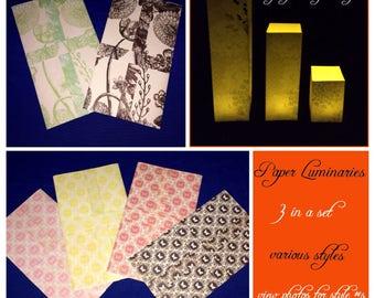 Paper Luminaries Perfect Night Lights