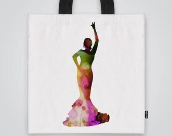 Dance with me  Tote Bag Shoulder Bag Market Bag Art Print