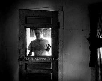 Dark Art Photograph, Surreal Portrait, Haunting Portrait