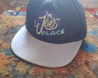 Joe's Place Joe Cool Camel Cigarettes Hat