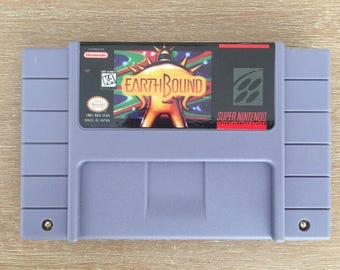 Earthbound Super Nintendo SNES Game Reproduction Repro
