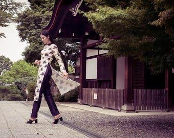 Cotton Silk Dress - Japanese Patterns