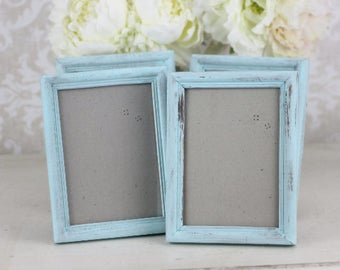Rustic Wedding Frames Shabby Wedding Decor SET of 4 Pick the Size (item P10196)