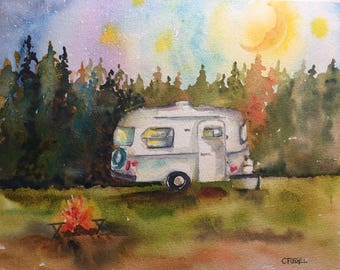 WILD CANADIAN BOLER This Canadian icon is happiest in the wilderness camping and enjoying the outdoors.  A little trialer from the 70's
