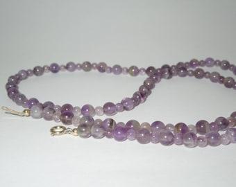 Necklace vintage amethyst