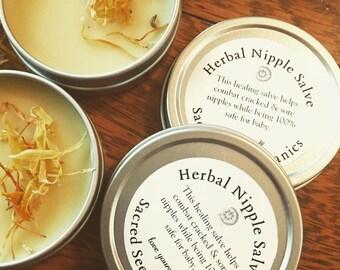 Herbal Nipple Salve
