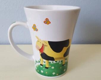 Vintage Royal Norfolk Cow Mug