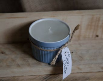 Clean Cotton Scented Candle - Ramekin