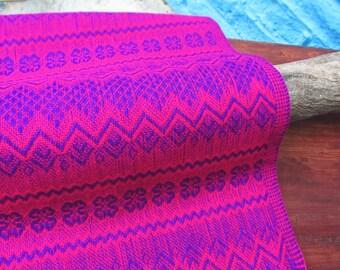 pink mexican rebozo / shawl / scarf
