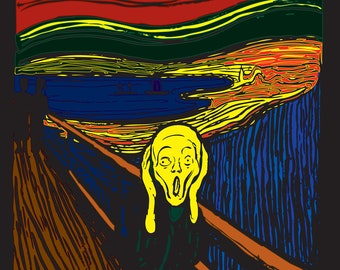 Munch's Scream In New Color