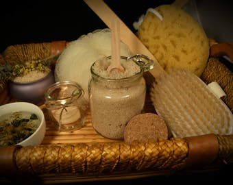 All Natural Sugar Scrub ~ Lavender Chamomile