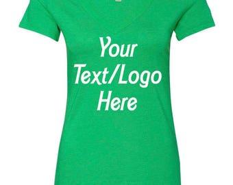 Personalized V-Neck Shirt