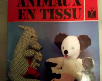 "Book ""Fabric animal"""