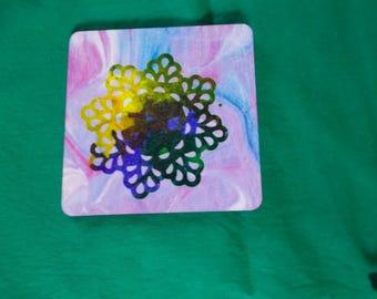 decorative coaster 10x10cm