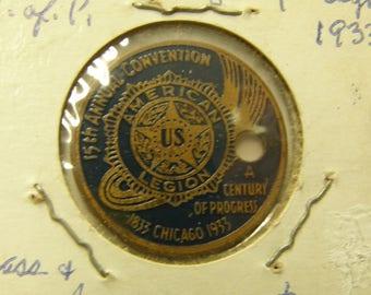 1933 American Legion Token - Chicago Ill