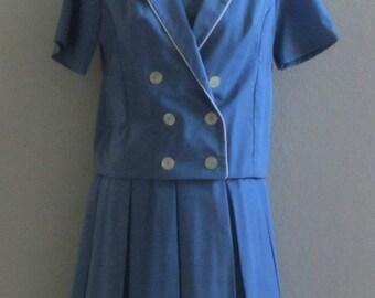 Vintage 60s Handmade Scooter Dress w/Jacket
