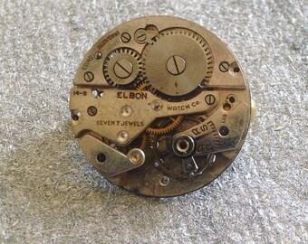 Steampunk brooch