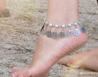 Gypsy Coin Anklet