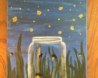 Glitter Fireflies
