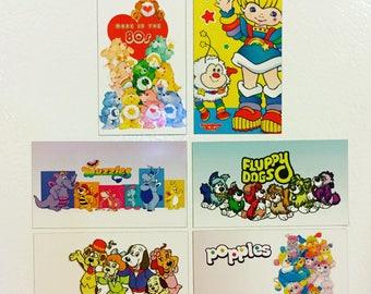80s Magnets (Set of 6)