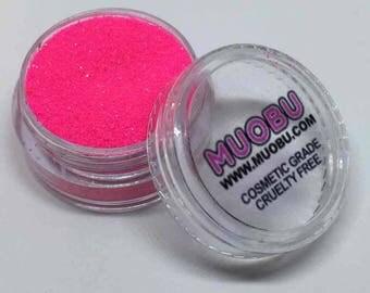 UV Neon Pink Cosmetic Grade Festival Glitter - Cruelty Free
