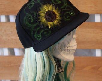 Sunflower Snapback