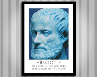 Aristotle, motivational, Inspirational, Self Development, Personal Development, Poster