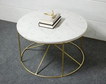 Marble coffee tableEtsy