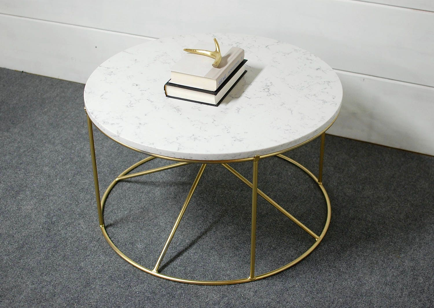 round white marble coffee table round coffee table. Black Bedroom Furniture Sets. Home Design Ideas