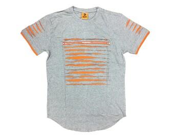 Men Designer Ripped T Shirt