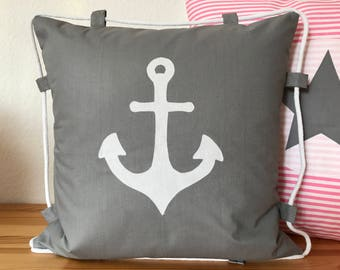 Country style Cushion cover * pillow * anchor + rope 50x50cm.