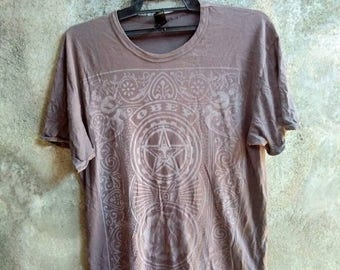 Vintage OBEY T Shirt / Nice Design - Made in USA