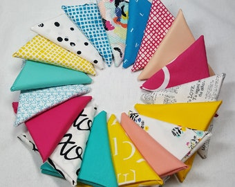 Capsules Letters by Art Gallery Fabrics (AGF) - 18 Fat Quarter Bundle