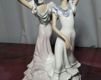 "Lladro #5601 ""Ole"" spanish dancers with original box"