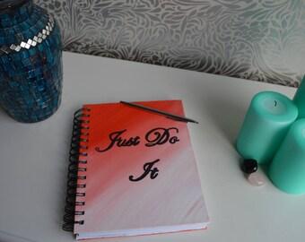 Just do it notebook/sketchbook, stationary