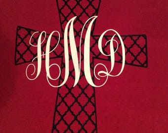Monogram Cross T-Shirt
