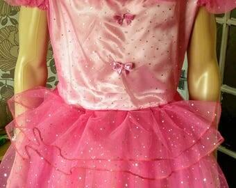 Sissy pink dress