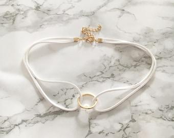 Sienna Circle Choker Necklace