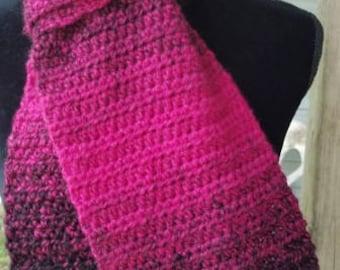 Black/Pink Scarfie