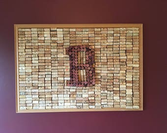 B Family Wine Cork Art