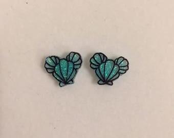 Mermaid mouse Earrings | Disney Inspired