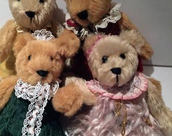 Mohair Teddy bears stuffed