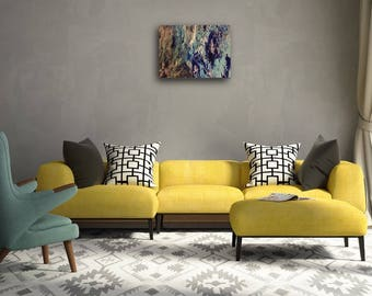 CLEARANCE ** Varnish shoes stripes on front - 16x20 Canvas Painting