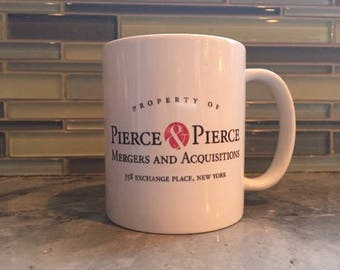 American Psycho Pierce & Pierce Coffee Mug