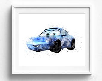 Disney cars, disney cars birthday, cars party, disney cars print, disney cars digital, disney poster, disney clipart, disney cars bedroom