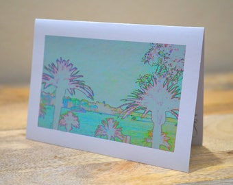 Green Palms Circular Quay - Blank Card / All Occassion Card with Envelope